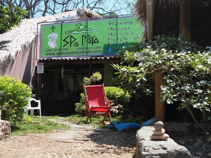 Garden at Spa Maya